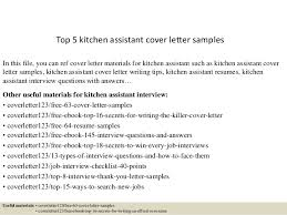 Bunch Ideas Of Kitchen Helper Cover Letter No Experience Assistant Resume Sample