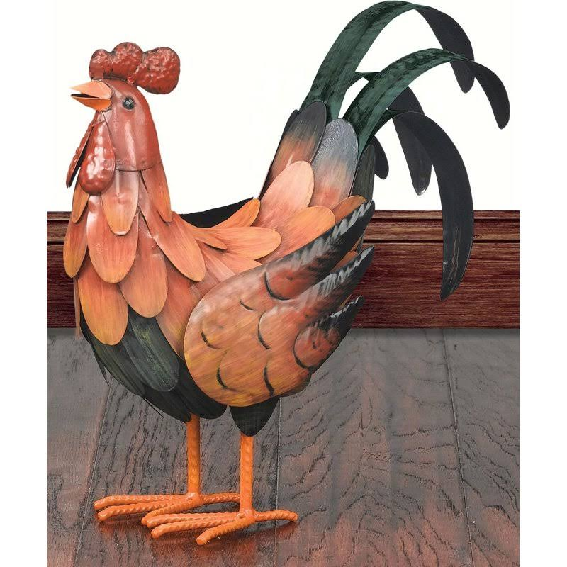 "Regal Art and Gift SM Golden Rooster Decor - 13.5"" x 5"" x 10.75"""