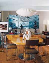 The Story Behind George Nelson's Iconic Bubble Lamp ... Monumental Rosewood Danish Modern Kai Kristiansen Conference Table Ding Set Executive Desk By George Nelson For Herman Miller 1960s Pedestal Ding Room Table F66 For Six Steel Frame Chairs Star Clock Str8mcm Set Of 6 Walnut X Leg 4668 Swag Round Design Within Reach The Best In Modern Fniture And Apple Bubble Pendant Orge Nelson Swag Leg Chair