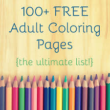 The Ultimate Guide To Free Adult Coloring Pages Coloriages