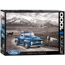 Amazon.com: EuroGraphics 1954 Ford F-100 Puzzle (1000-Piece): Toys ... 1954 Ford F100 Pick Up Truck Drivers Wanted For Sale Youtube Lacourly Motors The Twotone Paint Job Truck Enthusiasts Forums Trucks C500 Bottlers A Photo On Flickriver Review Amazing Pictures And Images Look At The Car Burnyzz American Classic Horse Power Why Nows Time To Invest In Vintage Pickup Bloomberg Photo Gallery 01959 Fordtruck F 100 54ft2284c Desert Valley Auto Parts Grilles Hot Rod Network 54 Famous 2018