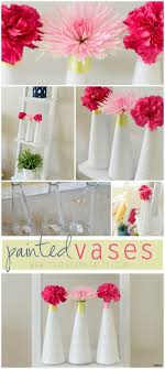 h Vases Diy Decorative Glass Vase Decoration Art Craft