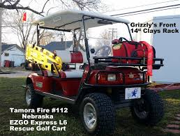 100 Fire Truck Golf Cart Grizzly Metalworks Heavy Duty Clays Baskets GRIZZLY