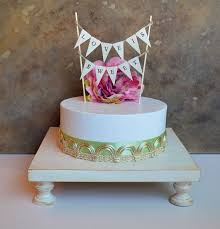 Cake Stand Cupcake 16 Square Wedding By SkyeArt