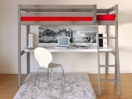 lit superpose longueur 180 lit mezzanine 90 190 cm bureau sommier