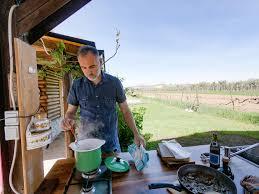 draußen kochen outdoor küche selber bauen wüstenrot mein