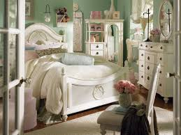 Top Notch Girl Classy Bedroom Decoration Using Light Green Pastel Room Wall Paint Including Curved