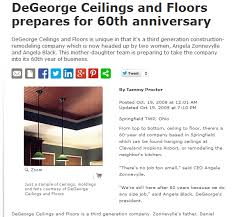 degeorge ceilings of southwestern ohio inc integralbook com