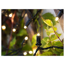 solarvet led light chain with 24 lights ikea