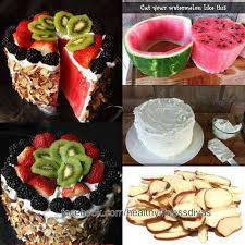 I Love The Little Watermelon BBQ With Fruit Skewers And Blackberries For Briquets Am Thinking Of Making This One My Daughters Housewarming Party