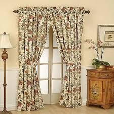 Waverly Fabric Curtain Panels by Waverly Felicite Curtain Panel Walmart Com
