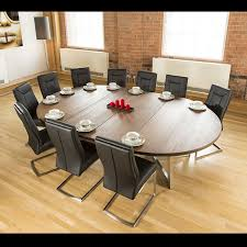 Large Oval 1.8 X 2.8m Brown Oak Dining Table + 10 Deep Black Chairs Ding Room Circular 10 Gorgeous Black Tables For Your Modern Pulaski Fniture The Art Of 7 Piece Round Table And Best Design Decoration Channel Really Inspiring Creative Idea House By John Lewis Enzo 2 Seater Glass Marble Kitchen Sets For 6 Solid Wood Island Mahogany Zef Set Kitchens Sink Iconic 5 Deco Double Xback Antique Grey Stone 45 X 63 Extra Large White Corian Top Chairs 278 Rooms With Plants Minimalists Living