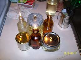 Paraffin Lamp Oil Substitute by Free Oil Lamps With Used Cooking Oil As An Additive To Lamp Fuel