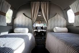 Gray Bedroom Mediterranean bedroom Airstream