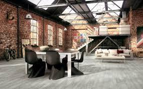 Industrial Warehouse Interior Design Rustic