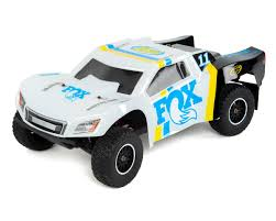 100 Losi Trucks TENACITY SCT 110 RTR 4WD Brushed Short Course Truck Fox