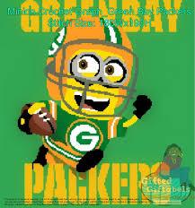 Green Bay Packers Pumpkin Carving Ideas by Inspired Minion Foot Ball Theme Crochet Graph Green Bay