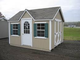 8x12 Storage Shed Kit by Cottage Style Wood Shed Kit Sizes 8 U0027 X 12 U0027 To 8 U0027 X 16 U0027
