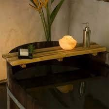 natural teak wood bath bar natural wood decor