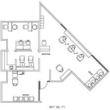 Barber Shop Floor Plan Design Layout 957 Square Foot