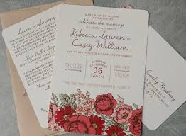 Burgundy Gold Floral Fall Wedding Save the Date Card Wedding Cheap
