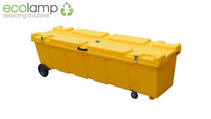 heavy duty l storage container fluorescent l recycling weee
