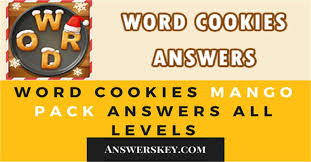 Word Cookies Mango Packs Answers All Levels AnswersKey