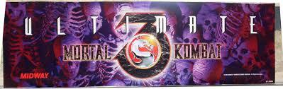 Mortal Kombat Arcade Cabinet Restoration by Ultimate Mortal Kombat 3 Arcade Art