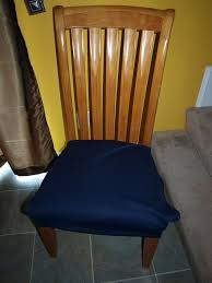 Amusing Plastic Dining Room Chair Covers For Chairs With Arms Back Fascinating Simple Blue