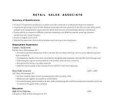 Free Retail Resume Template Rep Sales Sample Examples To Try Today Customer Service