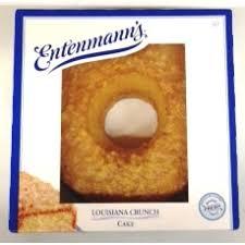 Entenmann s Louisiana Crunch Cake 20oz PrestoFresh Grocery Delivery