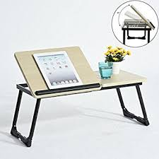 Coavas Portable Bed Laptop Tray Stand Folding Laptop Desk Table