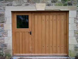 Wood Sheds Ocala Fl by Outdoor Brown Wood Costco Garage Doors With Stone Wall For