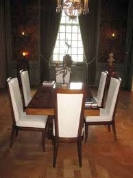 Art Deco Dining Table With 6 Chairs