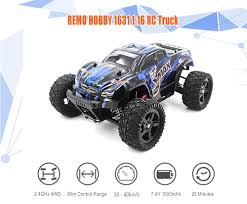 100 Rc Truck With Plow REMO HOBBY 1631 116 4WD RC Brushed RTR 6899 Free