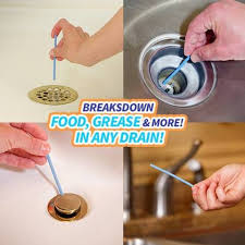 Drano For Sink Walmart by As Seen On Tv Sani Stick Drain Sticks Disposable