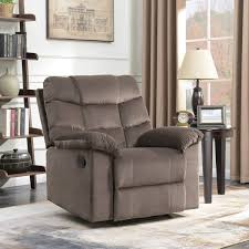 BELLEZE Microfiber Contemporary Full Recliner Lounger High Back ... Chair Leather High Back Chairs Living Room Accent Wingback Hcom Vintage Wing Tufted Brown Or Grey Home Done 2 Ding Upholstered Durable Top Grain Armchair Shop Belleze Extra Overstuffed Contemporary Full Recliner Chesterfield Embroidered Elements Queen Buy Fniture Elegant Appearance Product 10 Funiture Armless With Very Short Wooden Bellagio And Mattress Store 20 Best Of Modern For Guiadokartingeu Ottoman For Sale At 1stdibs