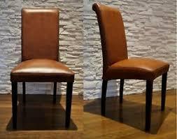details zu italienische leder stühle esszimmer echtleder stuhl lederstühle viele farben