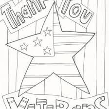Veterans Day Coloring Pages Celebration Doodles