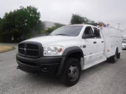 Used 2009 Dodge Ram 5500 Quad Cab 4WD Diesel Service Truck For Sale ...