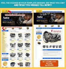 Auto Parts Professional EBay Templates Item Description Template Design