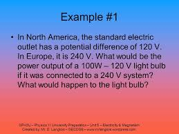 SPH3U Physics 11 University Preparation Unit 5 Electricity Magnetism Created By