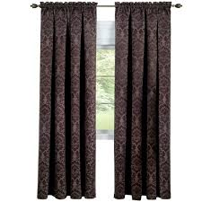 Waterfall Valance Curtain Set by Achim Curtains U0026 Drapes Window Treatments The Home Depot