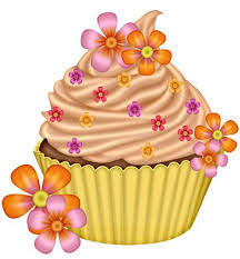 Thinking Spring Cupcake ClipartCupcake ArtCupcake IllustrationCup CakesHappy BirthdayArt