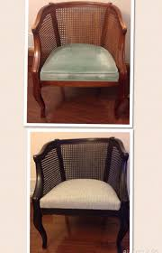 Barrel Cane Chair Makeover Before And After - SUCCESS ... Pair Of Regency Style Round Cane Back And Upholstered Walnut Side Chairs South San Francisco Trove Market Louis Xv Style Living Room Suite Thrifty Under 50 How To Paint Wood Cane Back Chairs Ncepcionlucaco Nilkamal Fniture Hancock Moore Living Room Somerset Chair Han1347 Walter E Smithe Design Popular Weatherproof Wicker Patio 39 Our Favorite Accent 500 Rules Beville Couches Kitchen Ding For Sale Table And Din Rustique Restoration Vintage