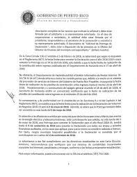 Carta Circular Núm 154183 Municipio Autónomo De Caguas