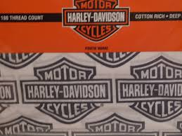 Harley Davidson Bathroom Themes by Amazon Com Harley Davidson Motorcycle Sheet Sets Twin Size Sheets
