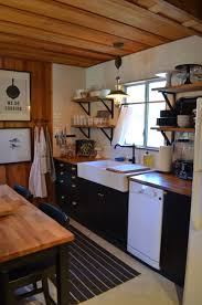 Small Log Cabin Kitchen Ideas by My Log Cabin Kitchen Renovation After Orange County