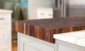 Butcher Block Countertop Plus Oak Wood Countertops Maple Island