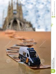 100 Tow Truck In Spanish Police Car On A Money Road Editorial Stock Image